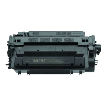 HP 55X Black Refurbished Toner Cartridge (CE255X)